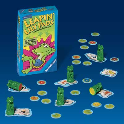 Ravensburger Game <br>Leapin' Lily Pads
