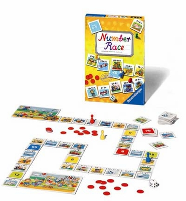 Ravensburger Games <br>Number Race