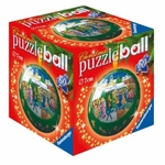 Ravensburger Puzzle <br>60 Piece Puzzleball <br>Christmas Market