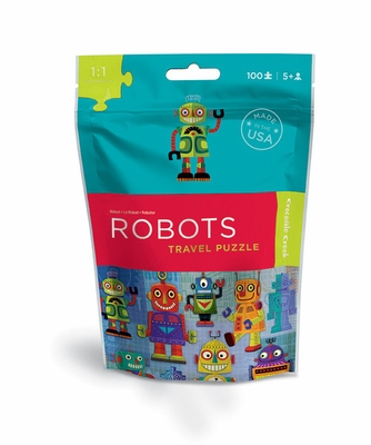 Crocodile Creek <br>Travel Pouch Puzzle <br>Robots