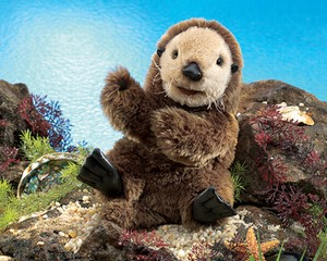 Folkmanis Puppet <br>Sea Otter