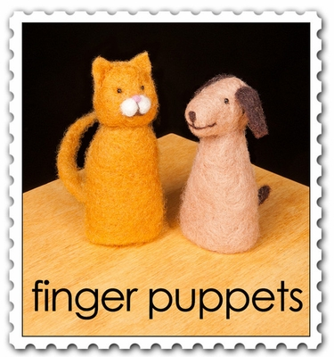 Wool Pets <br>Intro: Finger Puppets <br>Easy Kit