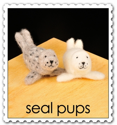 Wool Pets <br>Seal Pups <br>Easy
