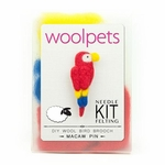 Wool Pets <br>Macaw Pin <br>Easy