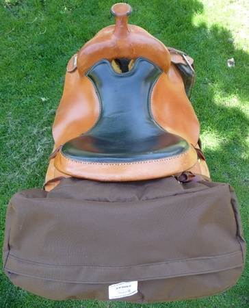 Cantle Bag with Saddle Cover