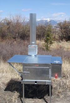 Riley's Trail Boss Tent Stove