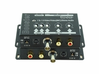 1 in and 1out S-Video/Composite + Audio Booster - BNC