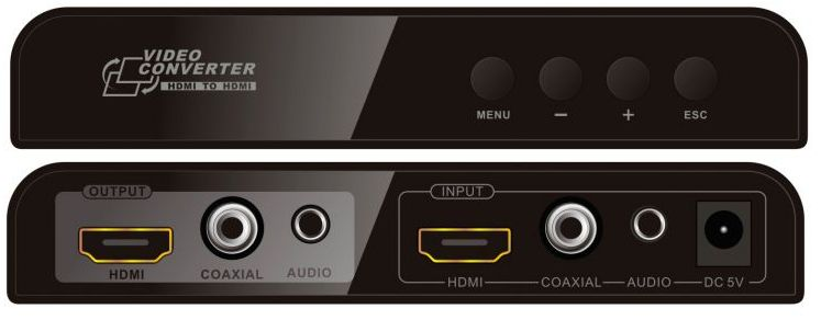 HDMI & DVI Scaler - Scales HDMI / DVI Up or Down to match your TVs