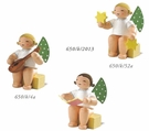 Small Sitting Angels (New in 2013 - Set of 3) - Wendt & K�hn