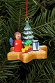 Angel And Tree On Gingerbread Star Cookie Tree Ornament - Christian Ulbricht GmbH & Co