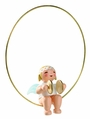 Angel Playing Cymbals In Ring Ornament (New in 2013) - Wendt & K�hn
