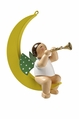 Angel in Half Moon Playing Trumpet (  - Wendt & K�hn