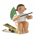 Angel On Clip Holding Baton (New in 2013) - Wendt & K�hn