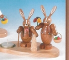 East Bunny Couple Candle Holder (1 Tealight) - Knuth Neuber