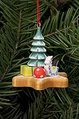 Christmas Tree and Toys On Gingerbread Star Cookie Tree Ornament - Christian Ulbricht GmbH & Co