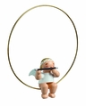 Christmas Tree Angel In A Ring Playing Flute - Wendt & K�hn