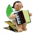 Clip On Angel Playing Accordion - Wendt & K�hn