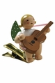 Clip On Angel Playing Guitar - Wendt & K�hn