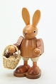 Easter Bunny Holding Egg Basket - Christian Ulbricht GmbH & Co