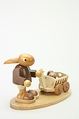 Easter Bunny Pulling Egg Wagon - Christian Ulbricht GmbH & Co