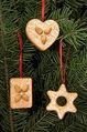 Gingerbread Cookies Tree Ornaments (Set of 3) - Christian Ulbricht GmbH & Co