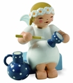 Sitting Marguerite Angel Painting Goblet And Jug (New in 2014) - Wendt & K�hn