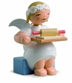 Marguerite Angel With Rolling Pin And Dough - Wendt & K�hn