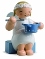 Marguerite Angel With Saucepan - Wendt & K�hn
