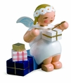 Marguerite Angel Wrapping Gifts - Wendt & Kuhn