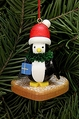 Penguin On Gingerbread Heart Cookie Tree Ornament - Christian Ulbricht GmbH & Co