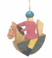 Rocking Horse Tree Ornament - Christian Werner