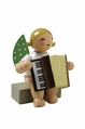 Sitting Angel Playing Accordion - Wendt & K�hn