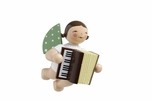 Suspended Angel Playing Accordion (New in 2016) - Wendt & Kühn