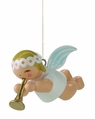 Suspended Angel Playing Flute - Wendt & K�hn