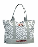Auburn University Tote Bag | Monogram | Embroidered