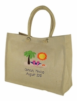 Beach Logo Tote Bag