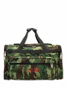 Camouflage Duffle