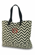 Canvas Day Traveler Tote | Monogram | Personalized