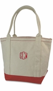 Canvas Deck Tote | Personalized | Monogram