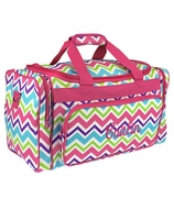 Chevron Duffle Bag