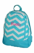 Chevron Preschool Backpack