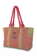 Chevron Summer Beach Tote