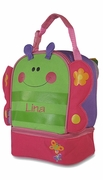 Child Butterfly Lunch Bag | Personalized