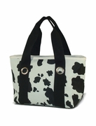 Cow Print Lunch Tote