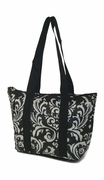 Damask Lunch Tote Bag