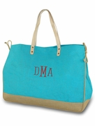 Eco-Friendly Jute Beach Tote
