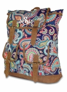 Embroidered Campus Backpack | Paisley