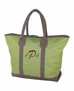 Embroidered Day Traveler Tote
