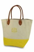 Embroidered Day Traveler Tote - Canvas