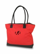 Embroidered Reusable Market Tote
